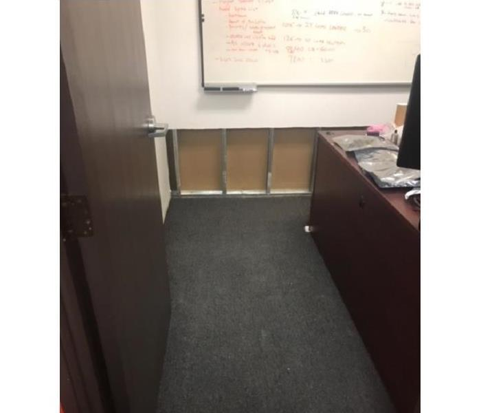Flooded Office Space in Rancho Penasquitos After