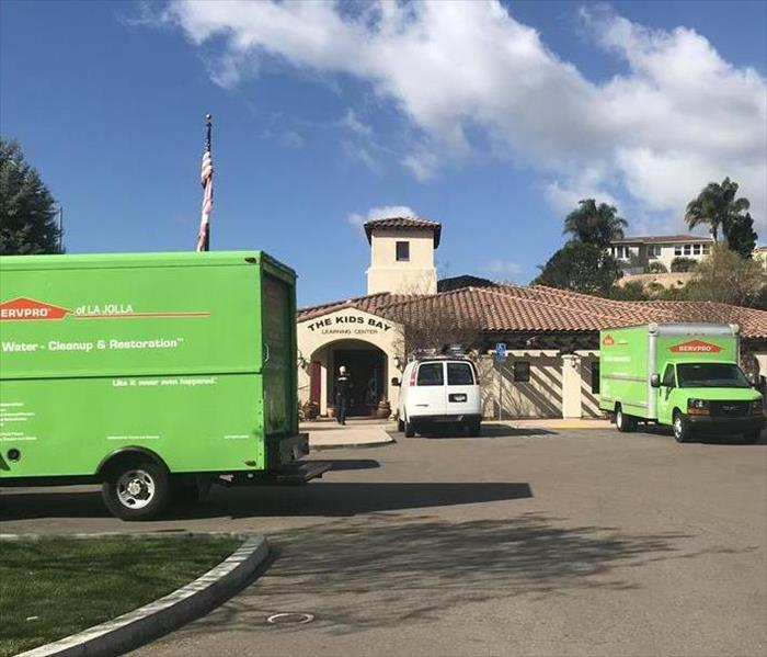 SERVPRO Scripps Ranch Mira Mesa Rancho Penasquitos helps with a School water loss