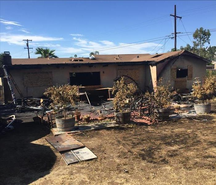 Residential Fire Loss in the San Diego area