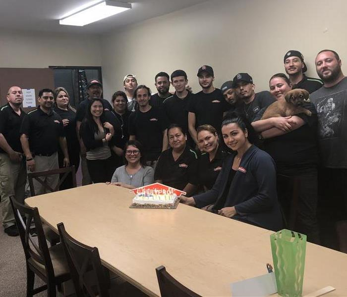 Birthday celebrations at SERVPRO La Jolla